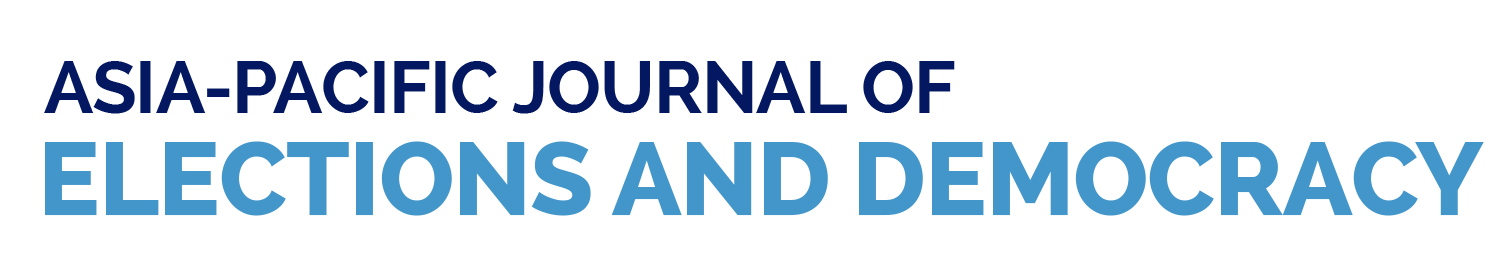 logo asia-pacific journal of election and democracy