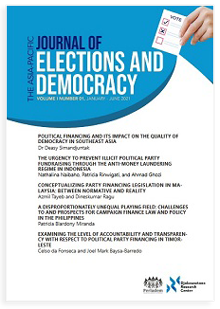 cover asia-pacific journal elections and democracy